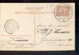 Utrecht Station 1 - 1906 - Poststempel