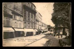 93 - SAINT-DENIS - RUE DU PORT - HOTEL DU MONT-BLANC - Saint Denis