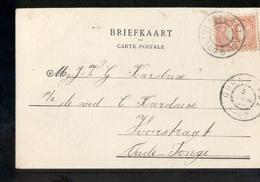 Ooltgensplaat Grootrond OUde Tonge - 1904 - Poststempel