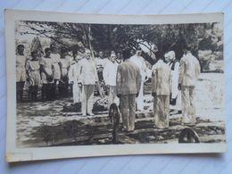 D170196 Old Photo  Ca 1950  - UK Royal Navy Funeral Ceremony - Malta  - E.V. Bosco  Hamrun - Lieux