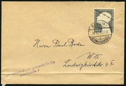 BUND 1953, Nr. 165, KRIEGSGEFANGENE AUF BRIEF, STPL-BERLIN-SCHMARGENDORF - Ohne Zuordnung