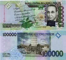 SAINT THOMAS & PRINCE       100,000 Dobras       P-69c       31.12.2013       UNC  [ 100000 ] - San Tomé E Principe