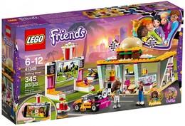 Lego Friends - LE SNACK DU KARTING Drifting Diner Réf. 41349 Neuf - Lego