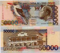 SAINT THOMAS & PRINCE       50,000 Dobras       P-68a       22.10.1996      UNC [ 50000 ] - San Tomé E Principe
