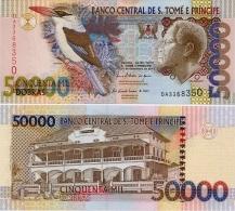 SAINT THOMAS & PRINCE       50,000 Dobras       P-68d       10.12.2010      UNC [ 50000 ] - San Tomé E Principe