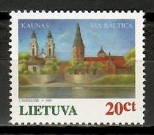 Lithuania 1995 Lituania / Baltic Road MNH Via Báltica / Kd08  36-11 - Lituania