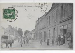 Sains-en-Amiénois-La Chaussée - France