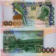 SAINT THOMAS & PRINCE       10,000 Dobras       P-66a       22.10.1996       UNC  [ 10000 ] - San Tomé E Principe