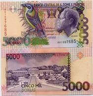 SAINT THOMAS & PRINCE       5000 Dobras       P-65a       22.10.1996       UNC - Sao Tome And Principe