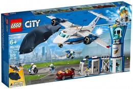 Lego City - LA BASE AERIENNE DE LA POLICE Sky Police Air Base Réf. 60210 Neuf - Lego