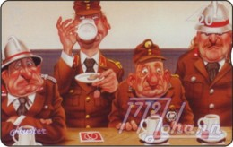 AUSTRIA Private: *Comic - Bruno Haberzettl 1* - SAMPLE [ANK F477] - Oesterreich