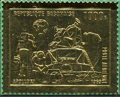 Gabon 1969. Michel #346 Mint. I Stuck To The Cardboard. First Manned Moon Landing - Apollo 11. (Ts31) - Gabon (1960-...)