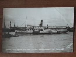 Carte Postale Bateau Argentine Empresa De Navigacion Domingo Barthe Recuerdo Del Vapor Formosa - Argentine