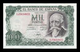 España Spain 1000 Pesetas José Echegaray 1971 Pick 154 EBC XF - [ 3] 1936-1975: Regime Van Franco
