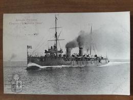 Carte Postale Bateau Pérou Armada Peruana Crucero Almirante Grau - Pérou