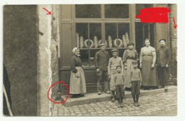 JOIGNY Carte Photo BOULANGERIE  FAMILLE - Joigny
