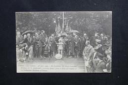 MILITARIA - Carte Postale - Ambassadeur Américain à Paris En 1920 Recevant Des Fleurs - L 49706 - Réceptions