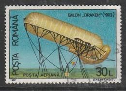 Romania 1993 Hot Air Balloons 30 L Multicoloured SW 4851 O Used - 1948-.... Repúblicas