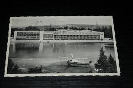 9227         LIEGE, LE PALAIS DU CONGRES ET L'HELICOPTERE - 1963 - Liège