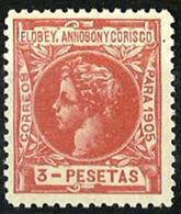 Elobey Nº 31 Con Charnela - Elobey, Annobon & Corisco