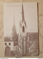 NIVELLES L'église Saint-nicolas Collection Albert Naveau Carte Du Vieux Nivelles - Nivelles