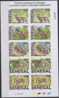¤ NEW YEAR OFFER ¤ SENEGAL 2017 ¤ IMPERFORATE IMPERF ND  ¤ FAUNE FAUNA PARC NATIONAL PARK NIOKOLO BUFFLE ANTELOPE - MNH - Sénégal (1960-...)