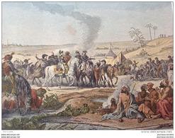 CAMPAGNE DE 1798 - LE GÉNÉRAL BONAPARTE VISITE LES FONTAINES DE MOÏSE - ARMÉE D'ORIENT - Vieux Papiers