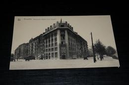 9233         BRUXELLES, BOULEVARDS D'YPRES ET DE NIEUPORT - Avenidas, Bulevares