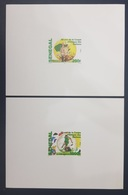 ¤ NEW YEAR OFFER ¤ SENEGAL 2017 - DELUXE PROOF EPREUVE  - SOCCER AFRICA CUP OF NATIONS FOOTBALL COUPE AFRIQUE RARE MNH - Sénégal (1960-...)