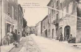 LABLACHERE LA ROUTE CARTE RARE - Francia