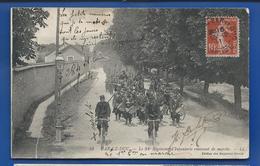 BAR-LE-DUC    94° Régiment D'Infanterie   Retour De Marche    Animées   écrite En 1911   Petite Déchirure Côté Inférieur - Bar Le Duc
