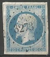 FRANCE - Oblitération Petits Chiffres LP 3273 St-SAVIN-SUR-GARTEMPE (Vienne) - 1849-1876: Classic Period