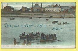 * Chalon Sur Saone (Dép 71 - Saone Et Loire - France) * (LL, Nr 91) Passage Des Ouvriers Du Petit Creusot, Bateau, TOP - Chalon Sur Saone