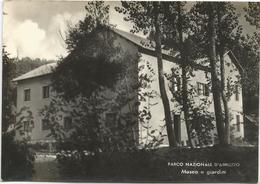 Y4985 Parco Nazionale D'Abruzzo (L'Aquila) - Museo E Giardini / Non Viaggiata - Italia