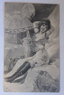 Künstlerkarten, Frauen, Mode, Erotik,   1906 ♥ (16826)  - Künstlerkarten