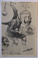 Kaiser Wilhelm Als Ein-Mann-Kapelle, Politik Karikatur Sign. Orens  (30144) - Personnages