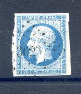 France N°14 - OBL - PC 3023 (Saint Chéron) - (F502) - 1853-1860 Napoleon III