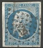 FRANCE - Oblitération Petits Chiffres LP 3299 St-VALERY-EN-CAUX (Seine-Maritime) - 1849-1876: Periodo Classico