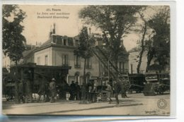 37 TOURS GB 495 La Foire Aux Machines Agricoles Boulevard Heurteloup  1905  -  Agriculture -  Grand Bazar     D19 2019 - Tours