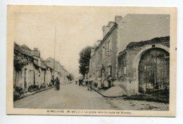 49 ST SAINT MELAINE La Poste Villageois Route De Brissac 1920     D19 2019 - Other Municipalities