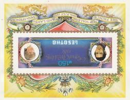 Lesotho, 1981, Royal Wedding, Charles & Diana, Miniature Sheet MNH **  Imperforate - Lesotho (1966-...)