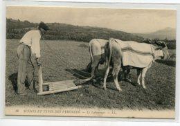 64 AGRICULTURE Le Labourage LL 36 Paysan Et Son Attelage De Boeufs Scènes Et Types Des Pyrénées 1910    D19 2019 - France
