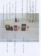 MINIATURES DE PARFUM  ETAT NEUF - Miniaturen Flesjes Dame (met Doos)