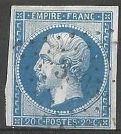 FRANCE - Oblitération Petits Chiffres LP 3305 St-VENAN (Pas-de-Calais) - 1849-1876: Période Classique