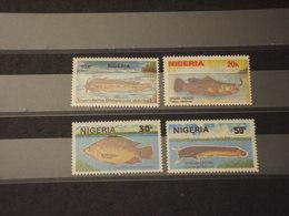 NIGERIA - 1991 PESCI 4 VALORI - NUOVI(++) - Nigeria (1961-...)