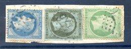 France N°11, 20 Et 29 Sur Fragment - GC 3476 - (F514) - France