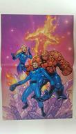Poster Doble: Los 4 Fantasticos (Carlos Pachecho)- Spiderman (Campbell). Proviene De Marvel Poster Magazine Vo... - Bücher, Zeitschriften, Comics