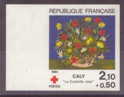 FRANCE - 1984 - NEUF** LUXE MNH - Yvert YT N° 2345b CROIX-ROUGE NON DENTELE Cote 46€ - France