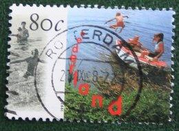 Nederland Waterland Boot Boat NVPH 1727 (Mi 1623); 1997 Gestempeld / Used NEDERLAND / NIEDERLANDE - 1980-... (Beatrix)