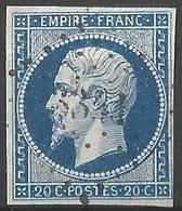 FRANCE - Oblitération Petits Chiffres LP 3341 THENON (Dordogne) - Marcophilie (Timbres Détachés)